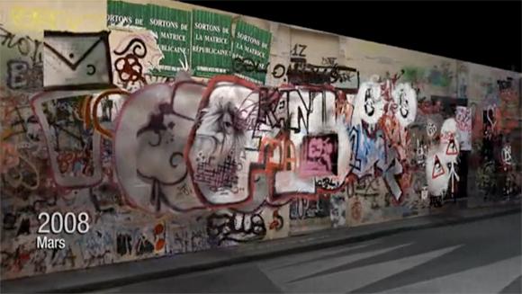 3dgraffiti2 Serge Gainsbourgs Home   3d Graffiti Animation