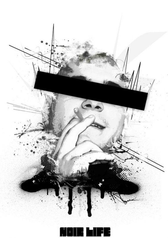 865391235352606 02 Noir Art by Parker Gibson