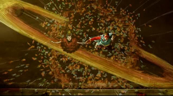 8686 The incredible video from Coldplay   Strawberry Swing