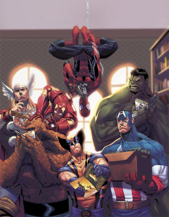 Avengers cover by ZurdoM Zurdom