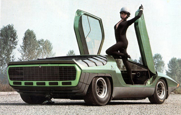 BertoneAlfaRomeoCarabo03 Bertone Carabo Concept