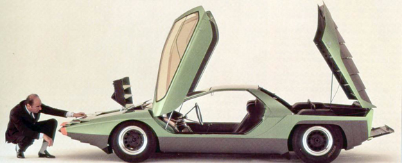 BertoneAlfaRomeoCarabo05 Bertone Carabo Concept