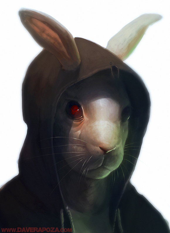 Bunny by DavidRapozaArt David Rapoza