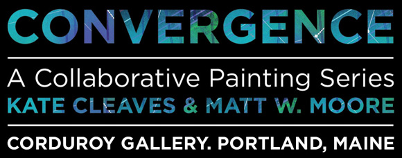 CONVERGENCE BANNER CONVERGENCE. Collaborative Painting Series.