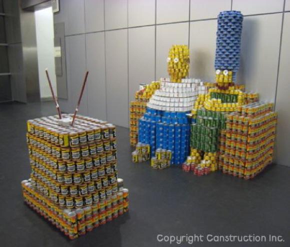 CannedFoodArt1 Amazing Canned Food Art
