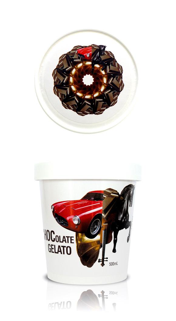 Chocolate Gelati Sky Packaging