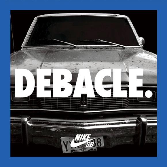 DEBACLE CAR Nike SB HD Video Project Debacle