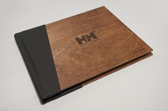 HH FrontCover Process: Helly Hansen Annual Report