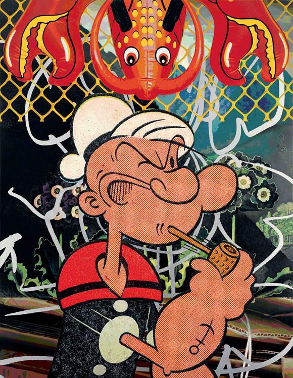 JeffKoons Popeye Jeff Koons Popeye Series