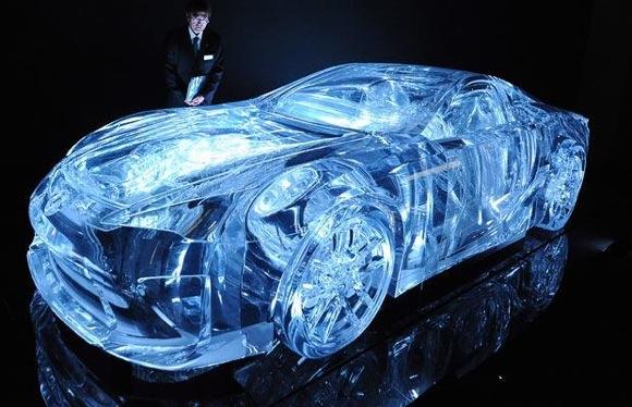 LexusLFACrystallisedWind1 Stunningly Transparent Lexus LFA Supercar