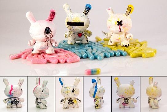 Maxime Archambault Custom Toys 3 Custom Toys by Maxime Archaumbault