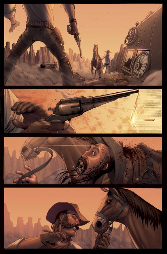 Outlaw Territory pg7 color by ZurdoM Zurdom