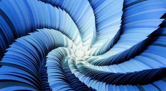 PrimariesInvertROLL Stunning Paper Art