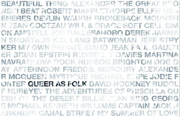 QueerAsFolk 02 Coulson Macleod Limited Edition Typographic Art