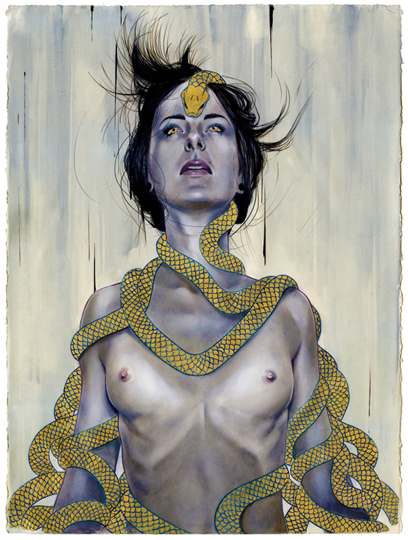 Serpents Among Us by theirison Illustrations of Erik Jones