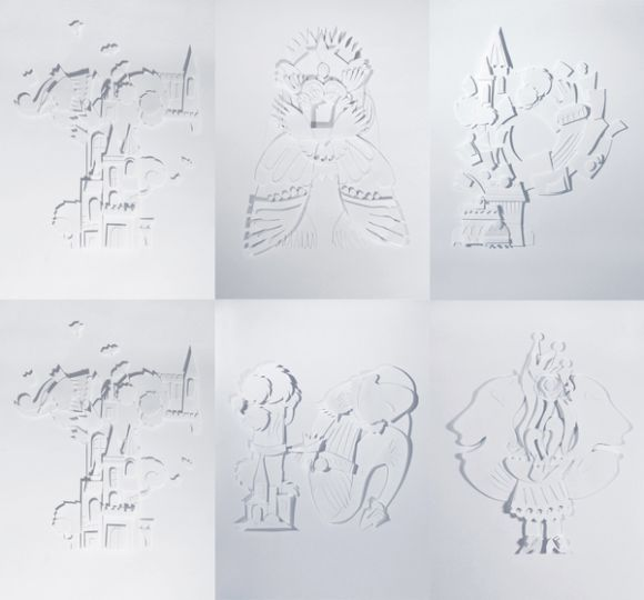 Sveta Shubina Paper Cut Poster 7 Sveta Shubina Paper Art
