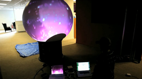 Untitled2 252 Interactive MultiTouch Sphere