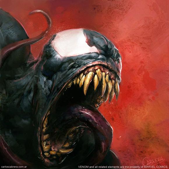 Venom by artbycarlos Carlos Cabrera