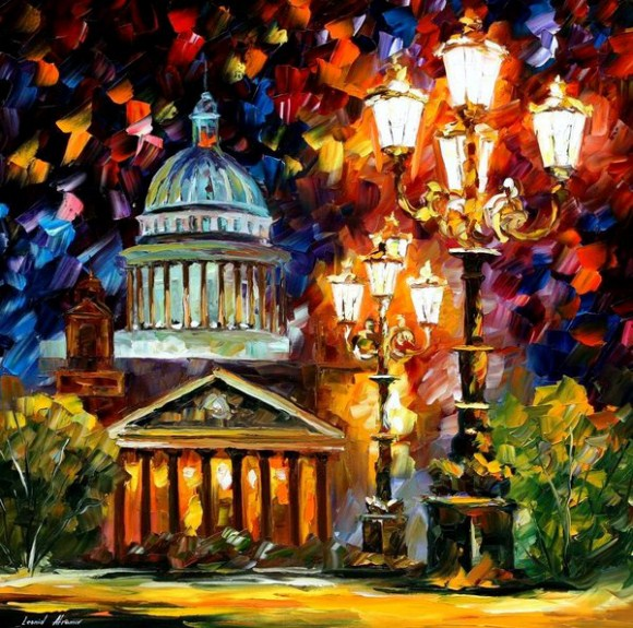 twinkling of the Sky Paintings by Leonid Afremov