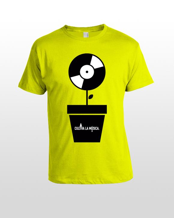 amarilla Cultiva la música.