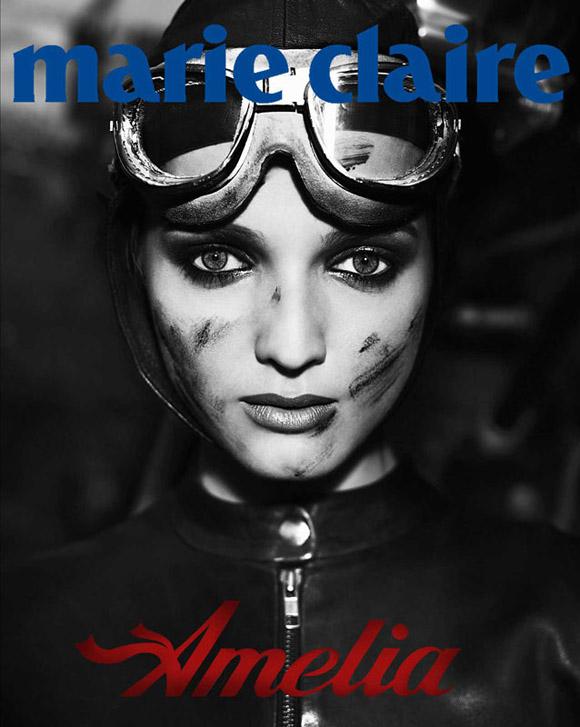 amelia001 Amelia Earhart by Giuliano Bekor