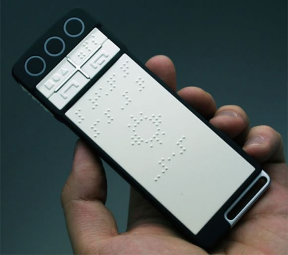 b touchphone Multi Functional Touchphone For The Blind