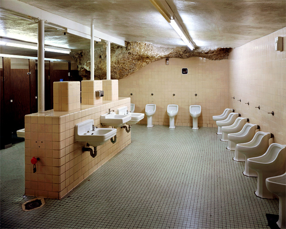 bathroom underground Ofer Wolberger