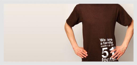 bgsmall Helvetica T shirt