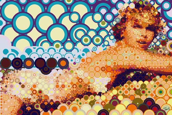 charlize Incredible Modern Day Mosaics   Charis Tsevis