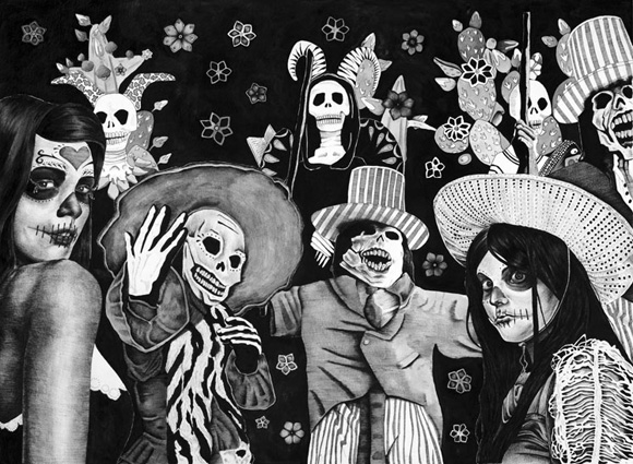 dayofthedead Lily Mae Martin