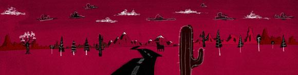 deserto Illustration by Oscar Chávez