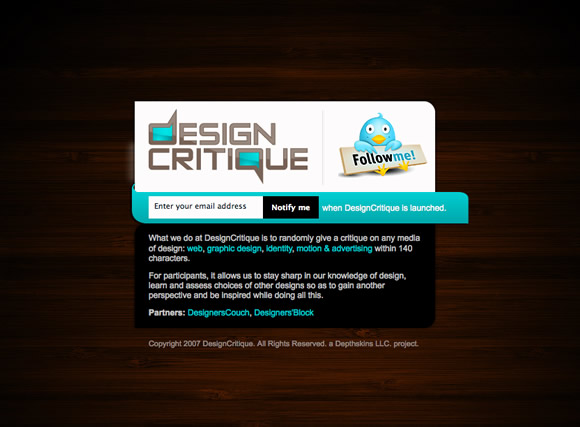 designercritique 10 Excellent Services To Get Feedback For Your Design Works