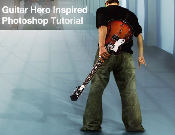 dytgh Bring out your inner rockstar   Guitar Hero Photoshop Tutorial