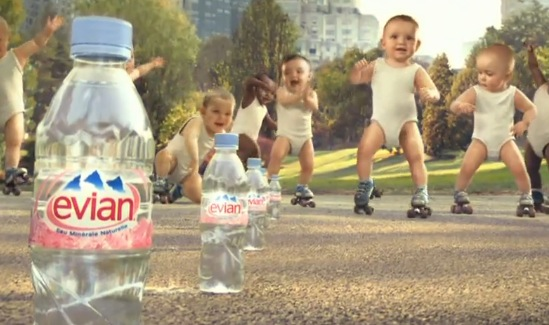 evianyoungcommercial4 Evian New TV Commercial