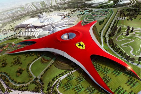ferrariworldabudhabi dyt Ferrari World Abu Dhabi: Worlds Largest Indoor Theme Park