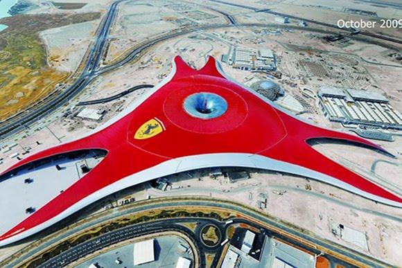 ferrariworldabudhabi dyt1 Ferrari World Abu Dhabi: Worlds Largest Indoor Theme Park