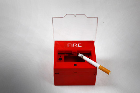 fi4 Fire Ashtray