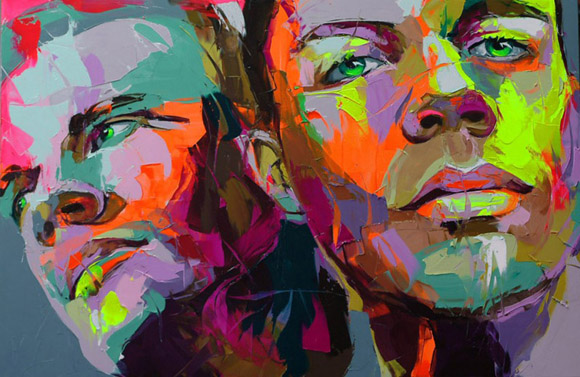 fn4 Paintings by Francoise Nielly
