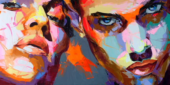 fn5 Paintings by Francoise Nielly