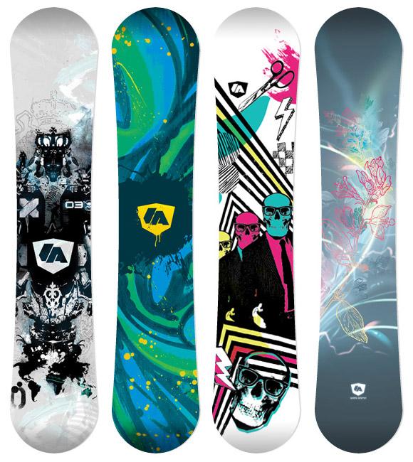 ga artistboards 04 Artist Series Snowboard Decals