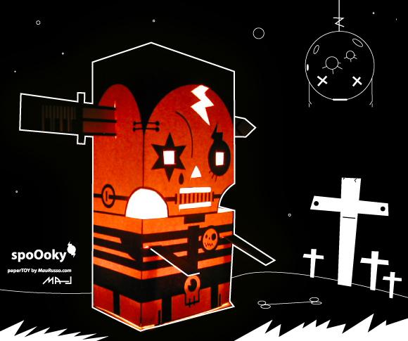 halloween spoOoky...the crappy papertoy