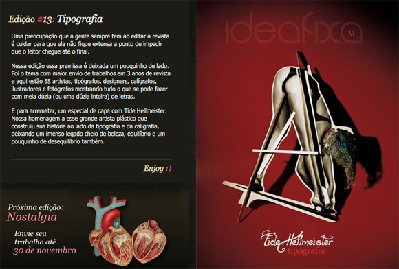 ideaFixa13 01 IdeaFixa Online Art/Design Magazine Issue #13 is out