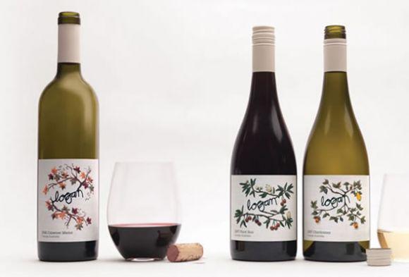 im2 Logan Wines Design Label