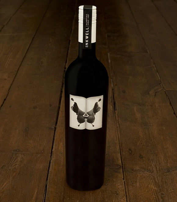 inkwellwine dyt 30 Amazing Wine Label Designs From Around the World