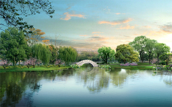 japan cg 17 Gorgeous CG Landscapes of Japan