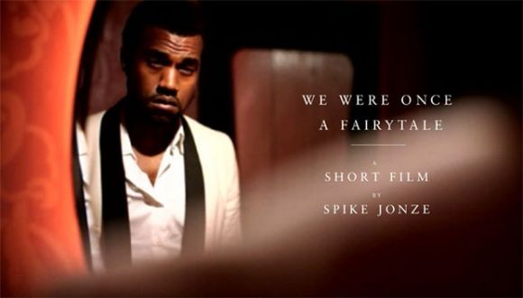 kanyewestspikejonzefairytale We Were Once A Fairytale   Kanye West Dir: Spike Jonze