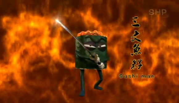 lee 2 Super Baozi vs. Sushi Man