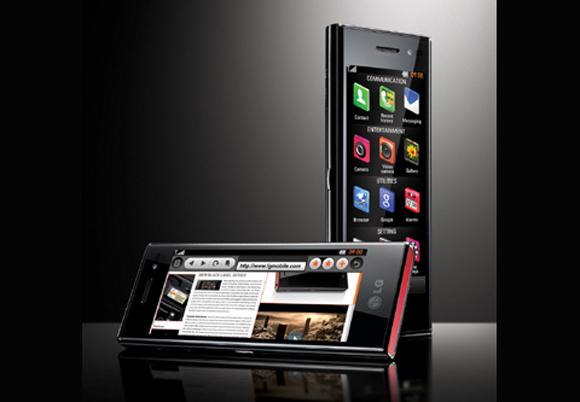 lgchoclate2 LGs Slick New Chocolate Phone