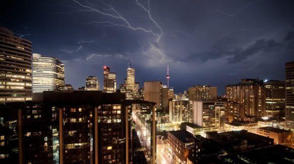 lightening Spectacular Lightening Storm