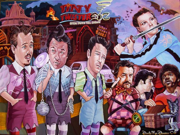 lollypulpfiction davemacdowell Paintings by Dave Macdowell